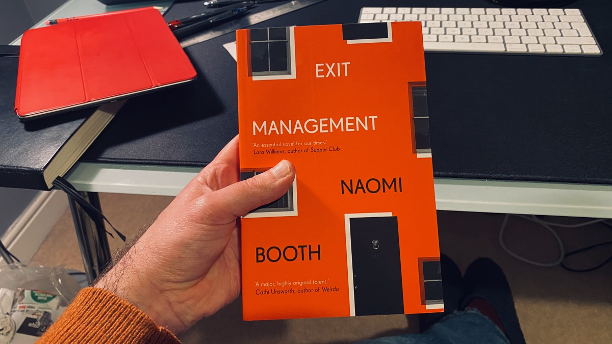 Exit Management, Naomi Booth